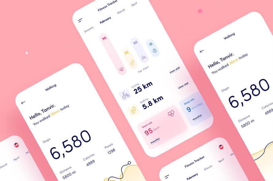 Tracker Fitness App Free