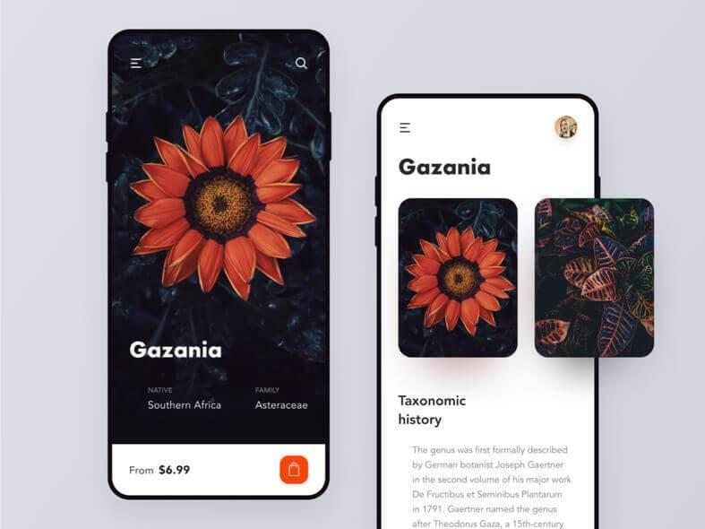 Flowers Shop App Free