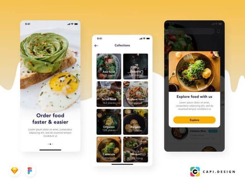 Exotic Food Order App Free