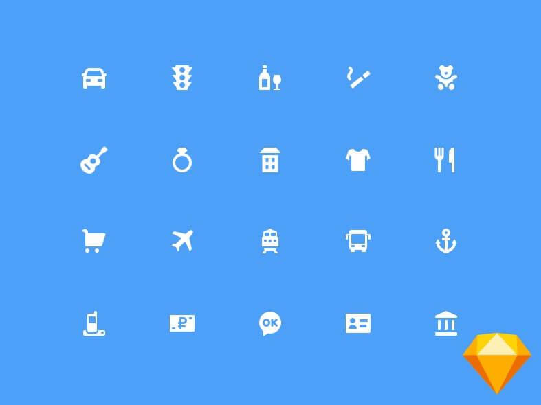 75 Solid Icons Free