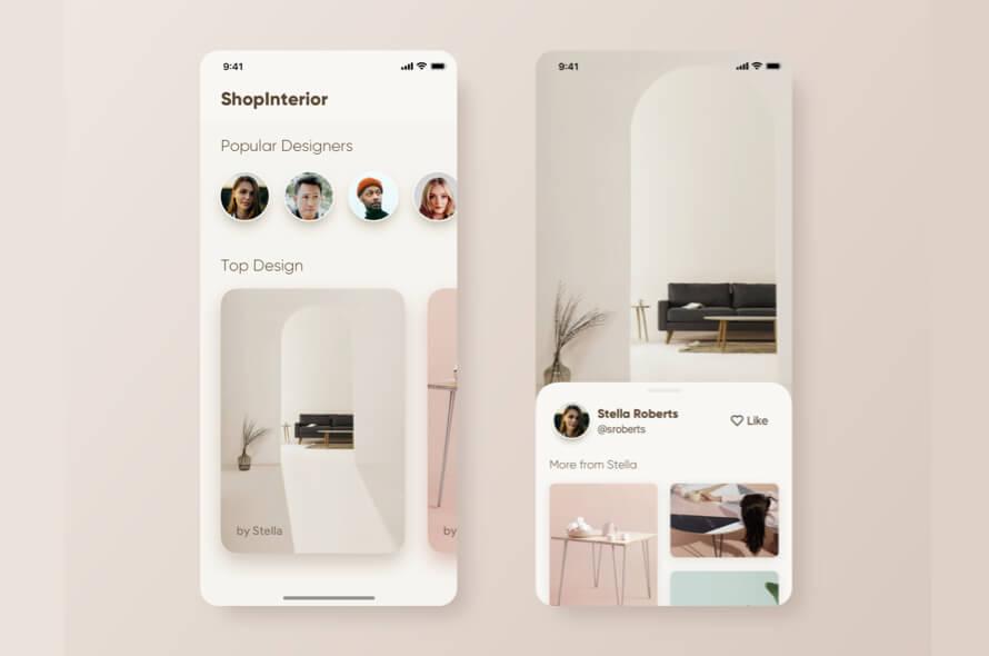 Interior App Design
