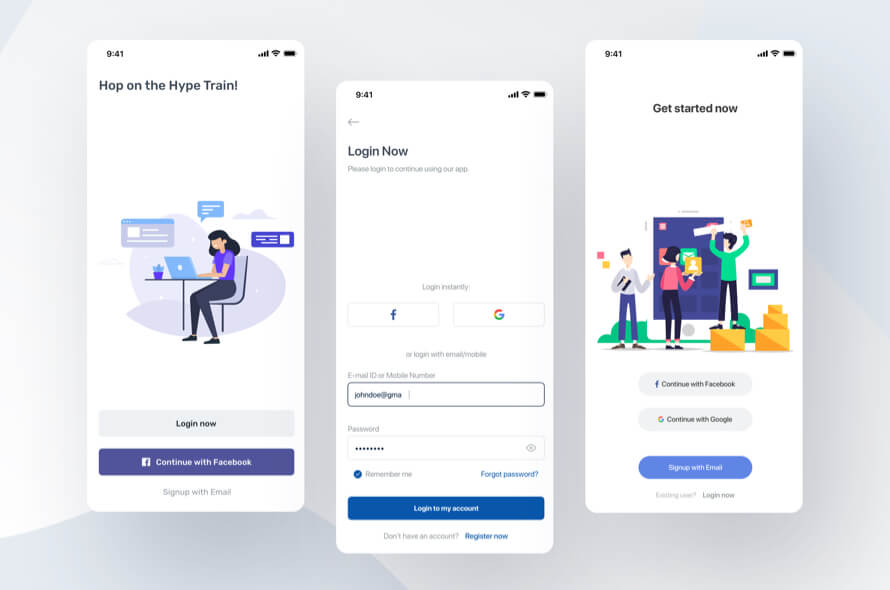 Mobile Login App Free