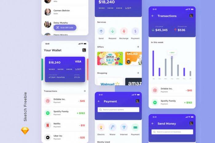 Simple Wallet App Free