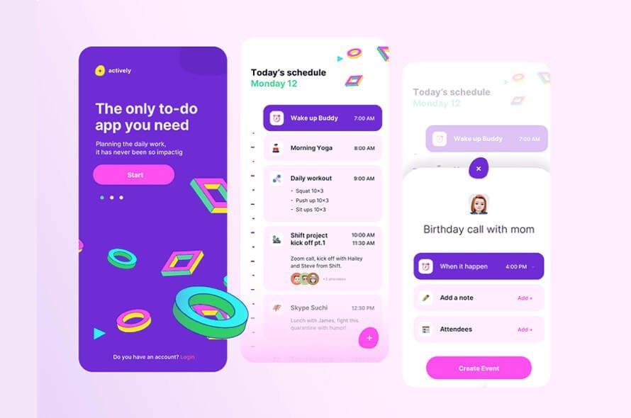 To-Do App Concept Free
