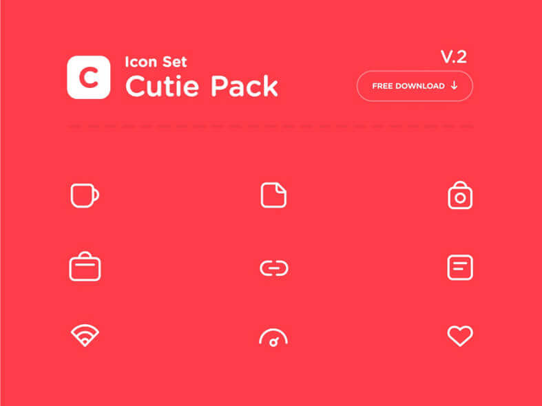 Cutie Pack Icons Free