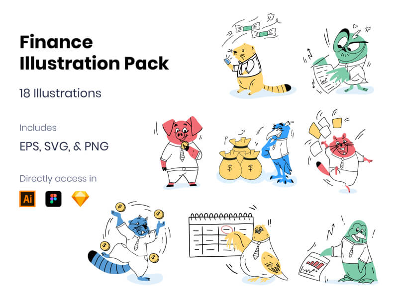Finance Illustrations Free