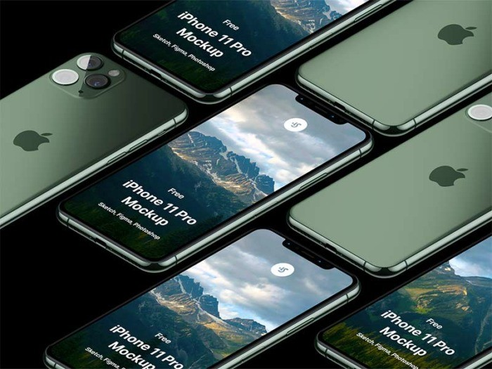 iPhone 11 Mockup Free