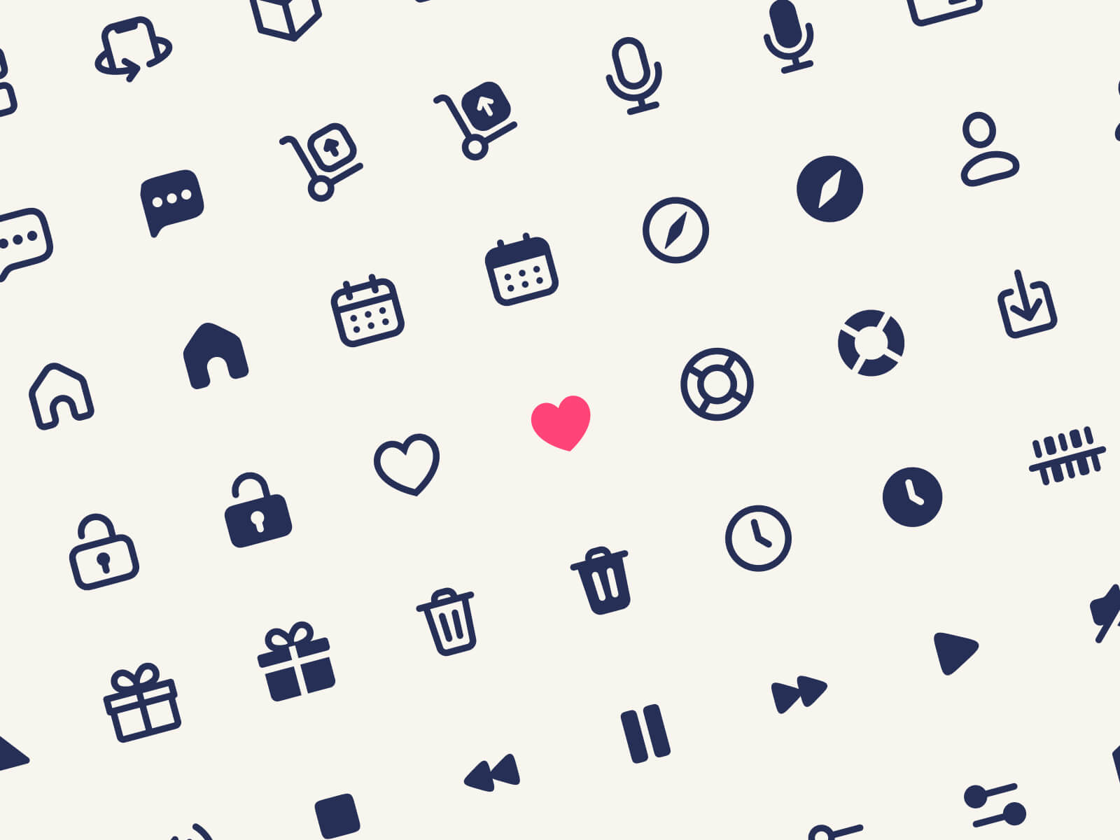 Free Basic Icons for Figma