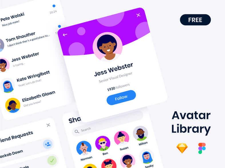 Avatar Library Free