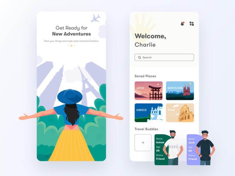 Sweep Travel App Free
