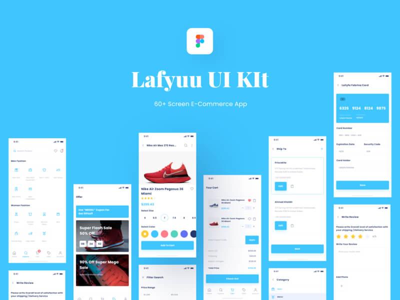 Lafyuu Ecommerce UI Kit Free