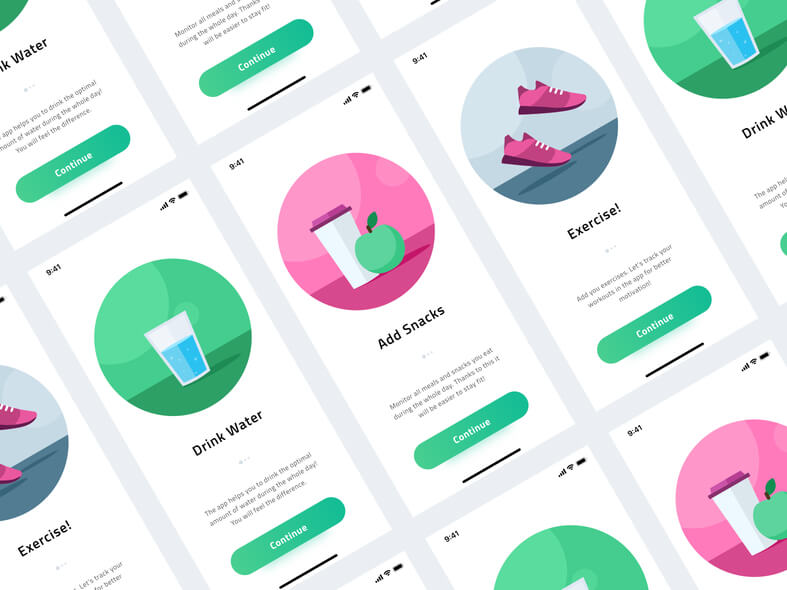 Health & Fitness Onboarding Free