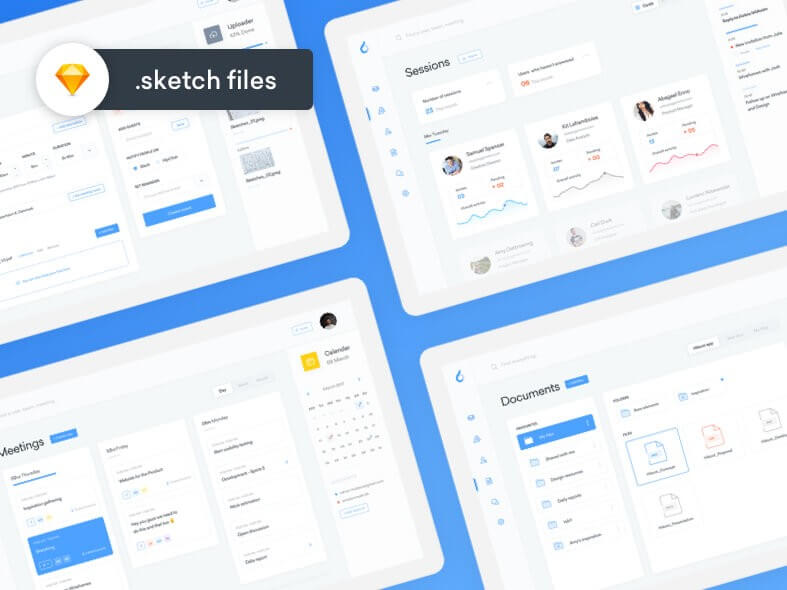 Productivity Dashboard UI Free