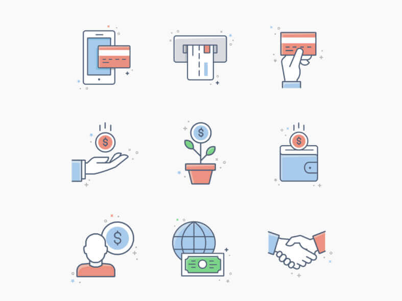 20 Business & Finance Icons - uifreebies.net
