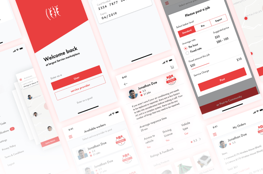 Atlas App UI Kit Free