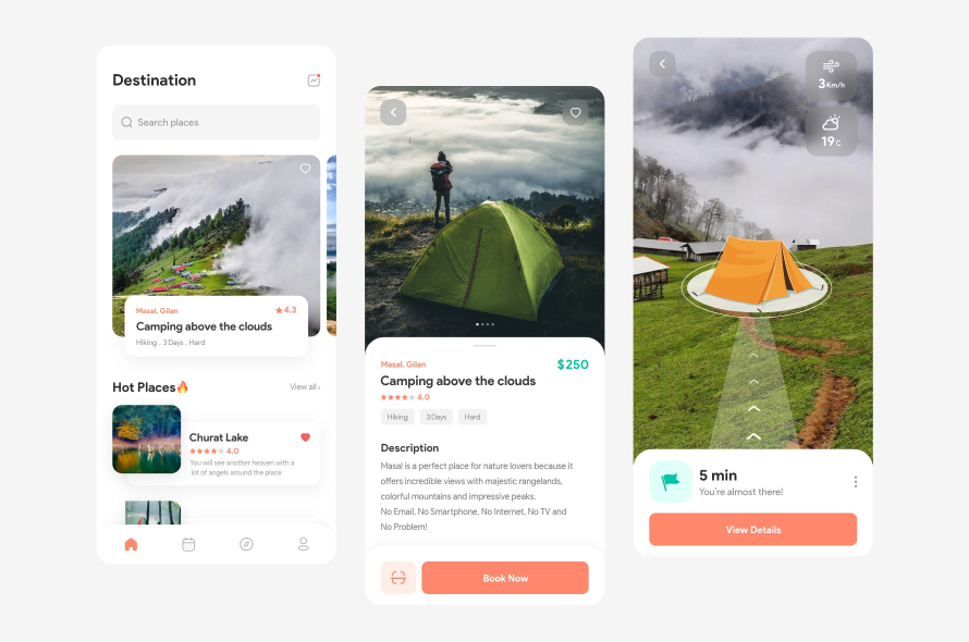 Camping AR App Free