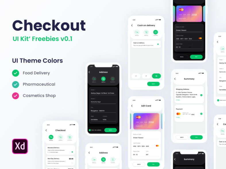 Checkout UI Kit Free
