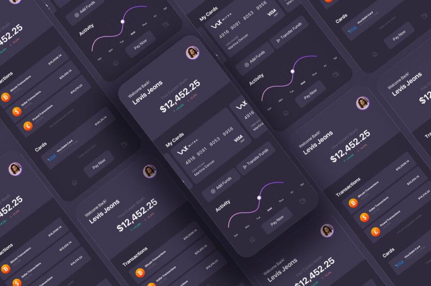 Coin Stars App UI Kit Free