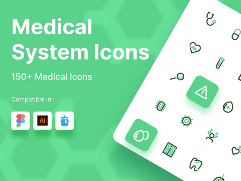 Medical Icons for Figma Free