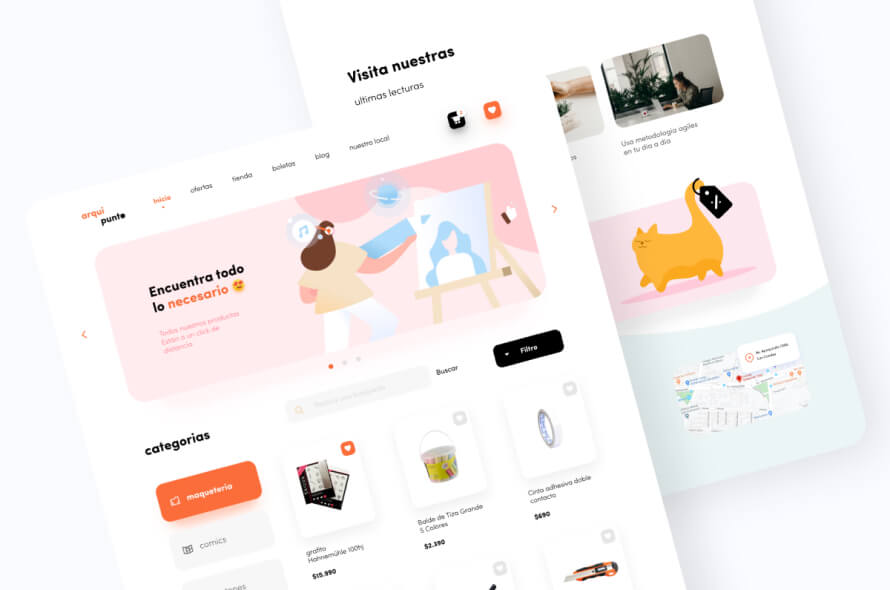 Punte Website Design Free
