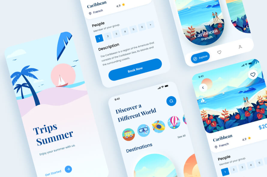 Kuoni Travel App