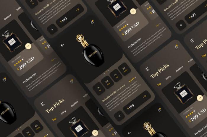 Perfume Ecommerce App Free