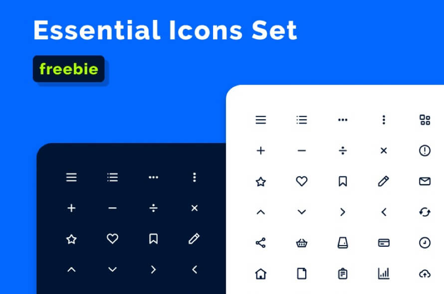 128 Essential XD Icons Free