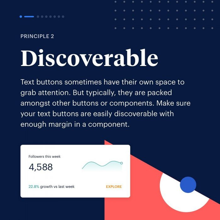 8 Principles to Text Buttons  02 - UI Freebies