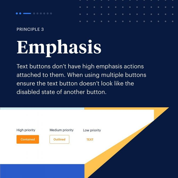 8 Principles to Text Buttons ⁣ 03 - UI Freebies