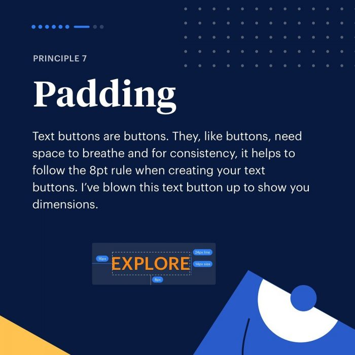 8 Principles to Text Buttons ⁣ 07 - UI Freebies