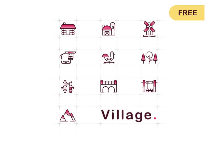 Free Village Icons