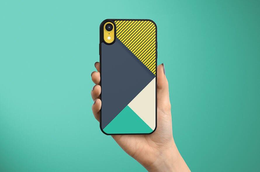 Iphone XR Case Mockup Free