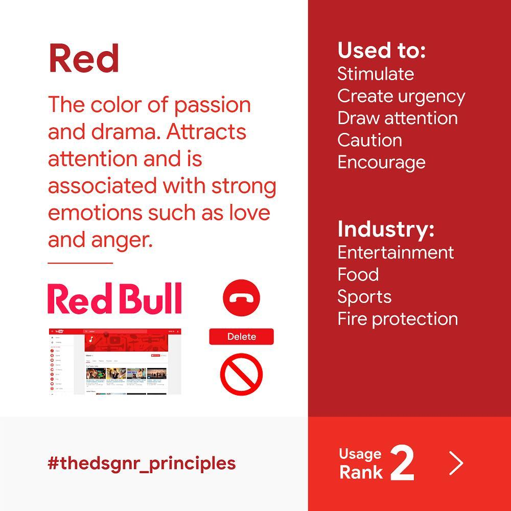 The Psychology of Color in Design 02 - UI Freebies