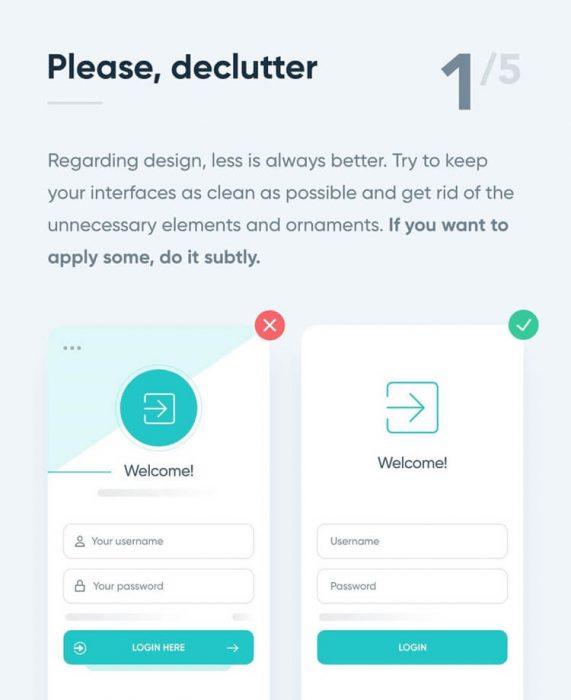5 simple tips to improve ui design - UI Freebies