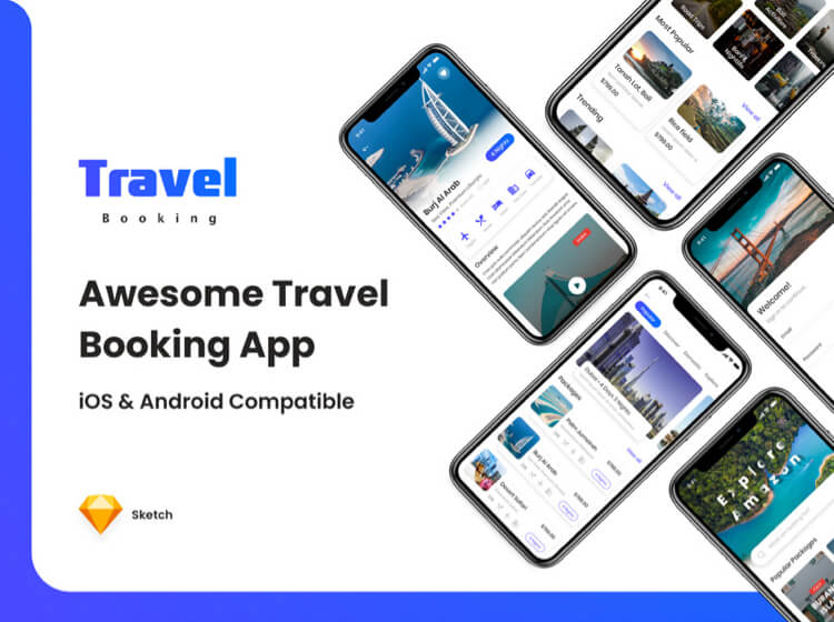 Awesome Travel Booking App Free