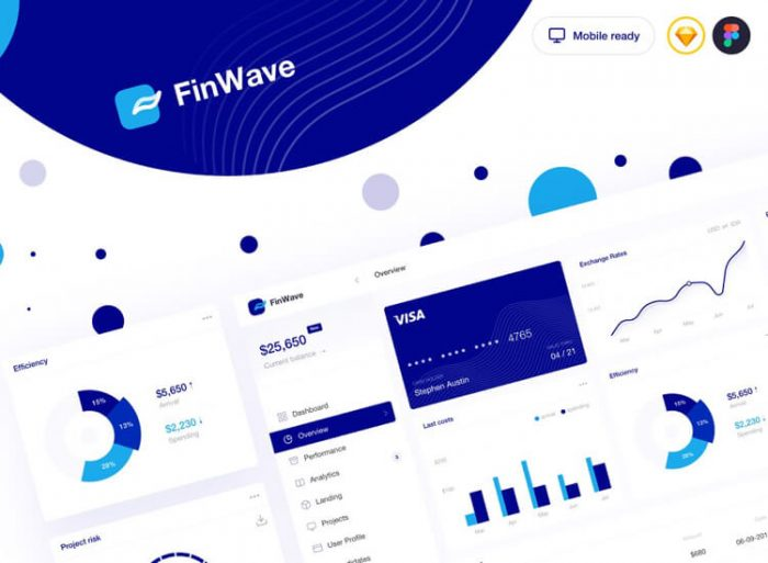 Finance Dashboard UI Kit