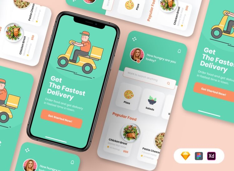 Free Food Delivery App
