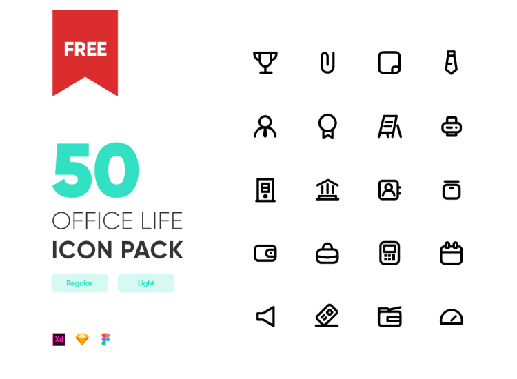 Free Office Icon Template