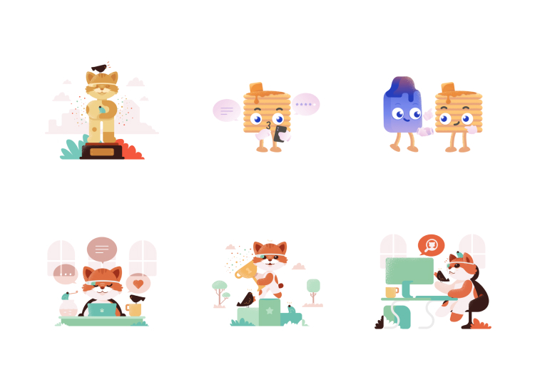 Product Hunt Illustrations Free