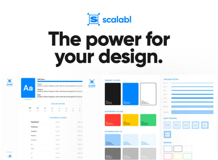 Scalabl Design System Kit Free