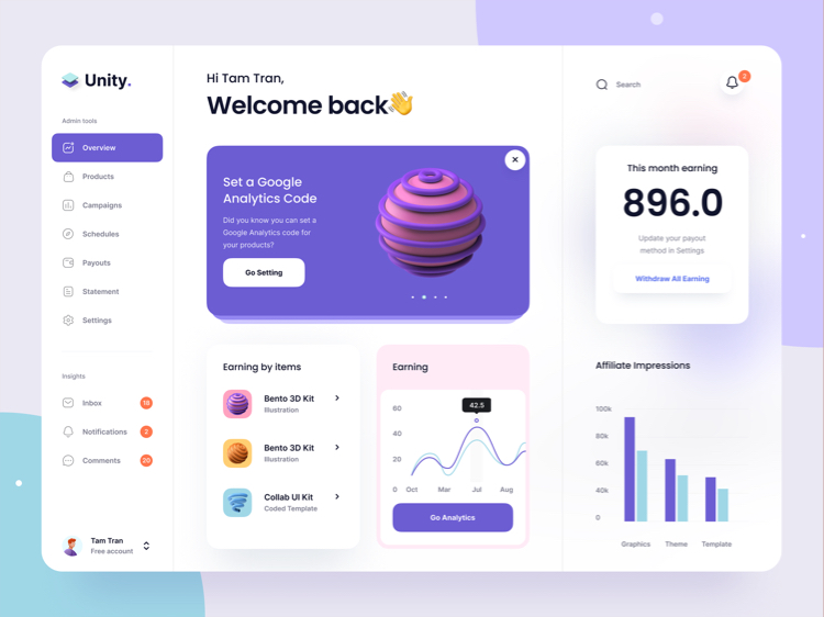 Top UI Design for Your Inspiration 2 01 - UI Freebies