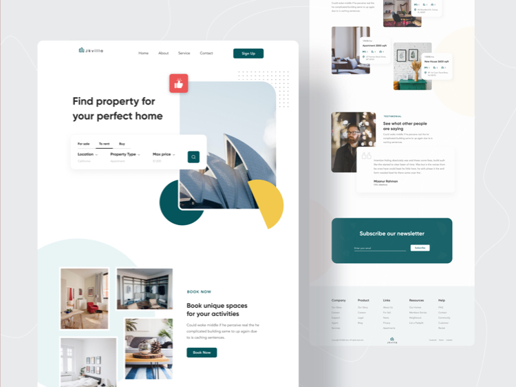Top UI Design Inspiration #2 - UI Freebies