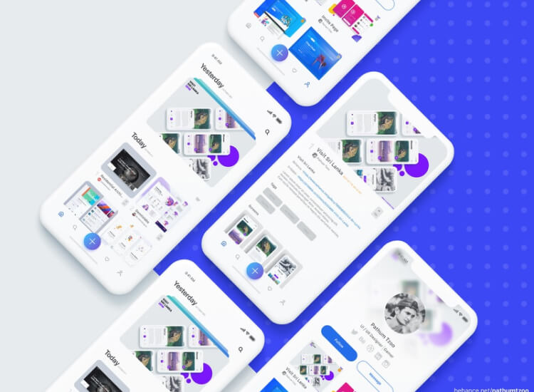 Uplabs App Redesign Free