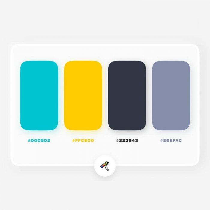 color palettes 1 - UI Freebies