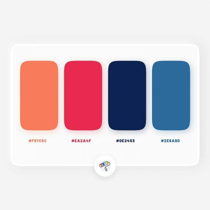 color palettes 10 - UI Freebies