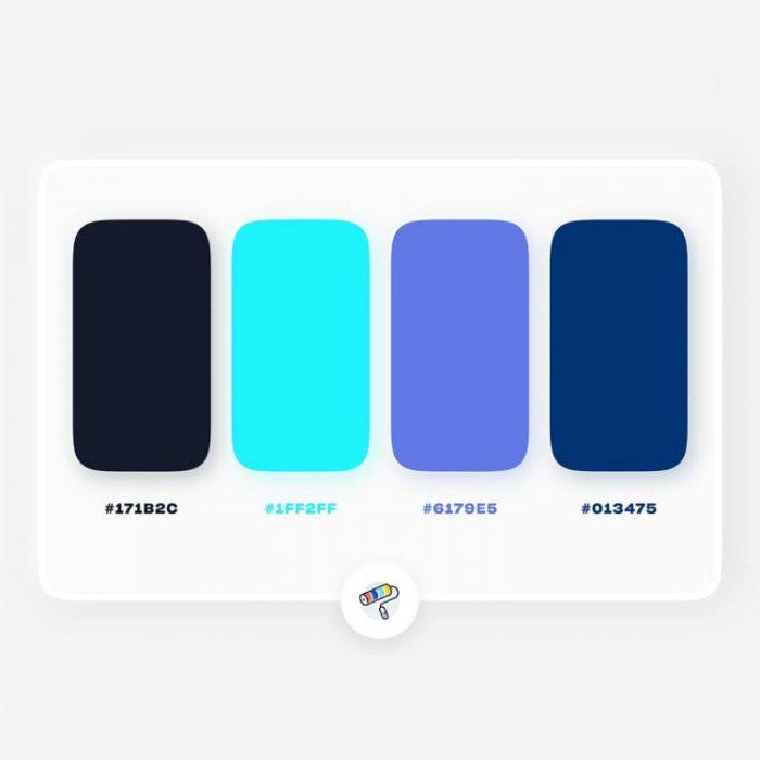 color palettes 5 - UI Freebies
