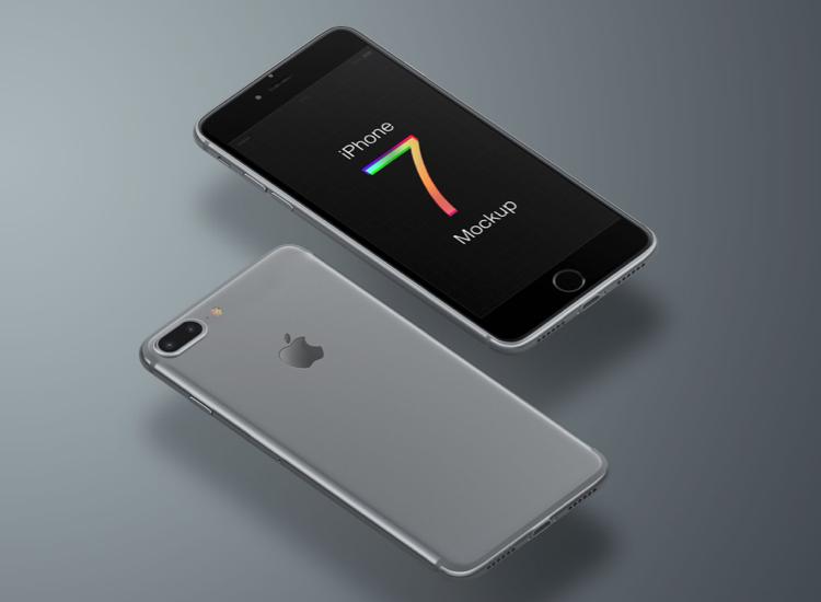 iPhone 7 Mockup Free