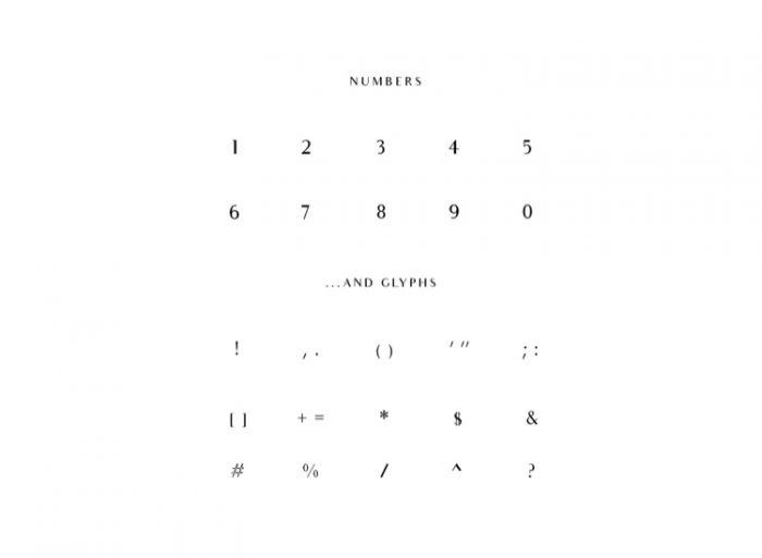 Audrey Font Free 3 - UI Freebies