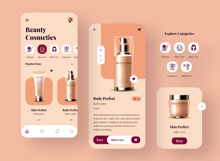 Beauty Cosmetics App Free