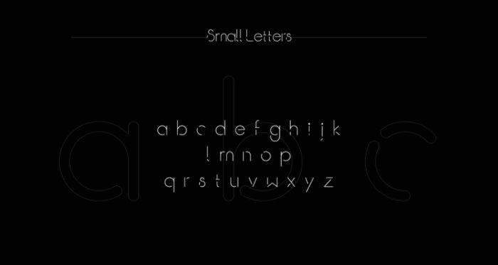 Break Typeface Free 4 - UI Freebies